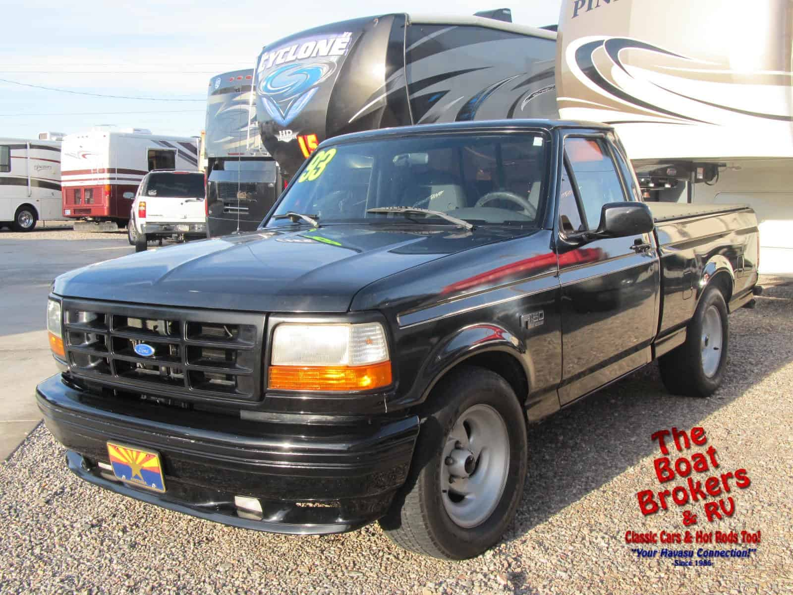1993 ford lightning f150 xlt truck the boat brokers rv lake havasu city arizona new. Black Bedroom Furniture Sets. Home Design Ideas
