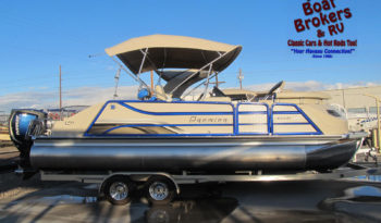 2016 Premier 250 Velocity 25′ TriToon Boat