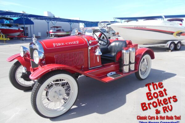 1929 Ford Speedster Firechief Model A pickup
