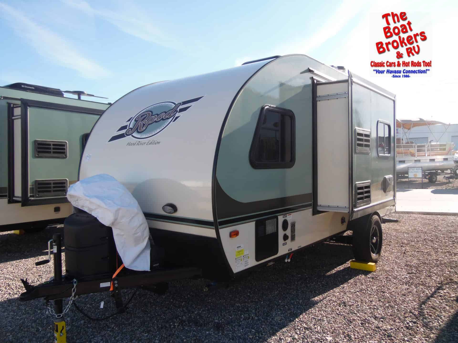 2017 Forest River R-Pod 18ft - The Boat Brokers & RV ...
