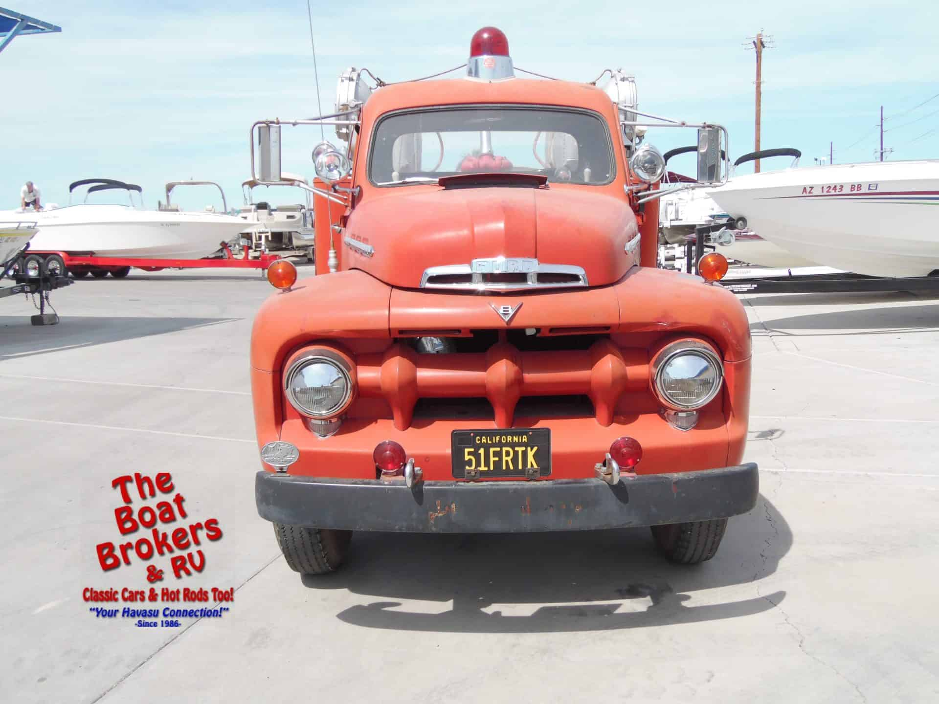 1951 Ford Fire Truck New Used Boats Rv For Sale The Boat 1952 Hot Rod Pics Firetruck