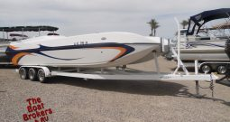 2005 Lavey Craft Party Prowler 28ft Deck Boat