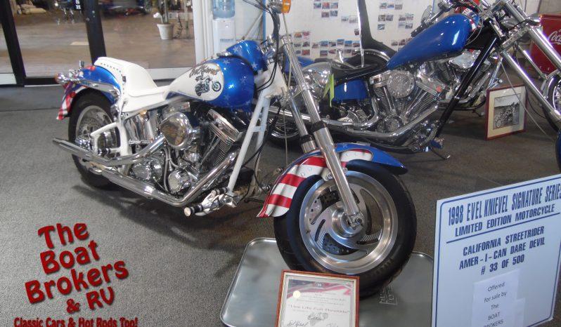 1998 CMC Street Rider Evel Knievel Motorcycle