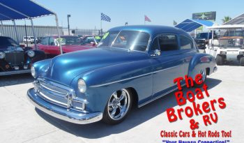 1950 Chevy 2dr Fleet-line Sedan mild custom