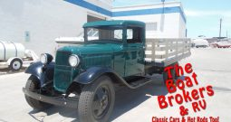1933 Ford 1 1/2 ton Model BB Stake-bed Truck