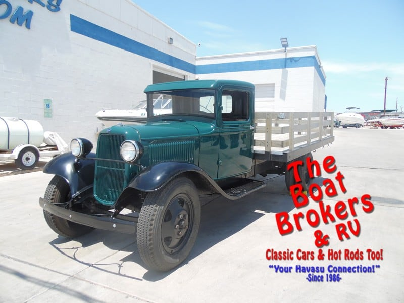 1933 Ford 1 1 2 Ton Model Bb Stake Bed Truck New Amp Used