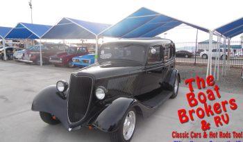 1934 FORD 4 DOOR SEDAN/BLACK  Price Reduced