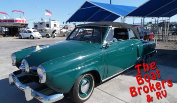 1950 STUDEBAKER CHAMPION REGAL DELUXE CONVERTIBLE Price Reduced!