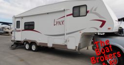 2007 FLEETWOOD LYNX 27′ 8″ 5th WHEEL