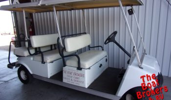 2004 CLUB CAR GOLF CART – White 6 Seater PRICE REDUCED!