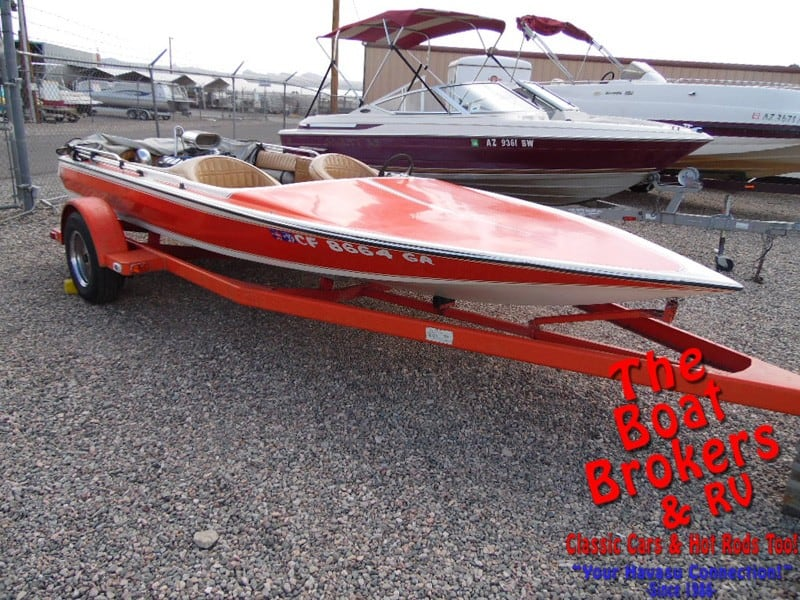 1976 HASKELL JET BOAT 17'