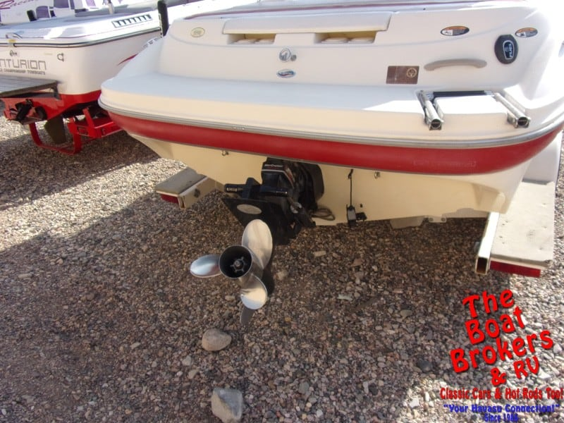 2001 21′ BAYLINER CAPRI OPEN BOW