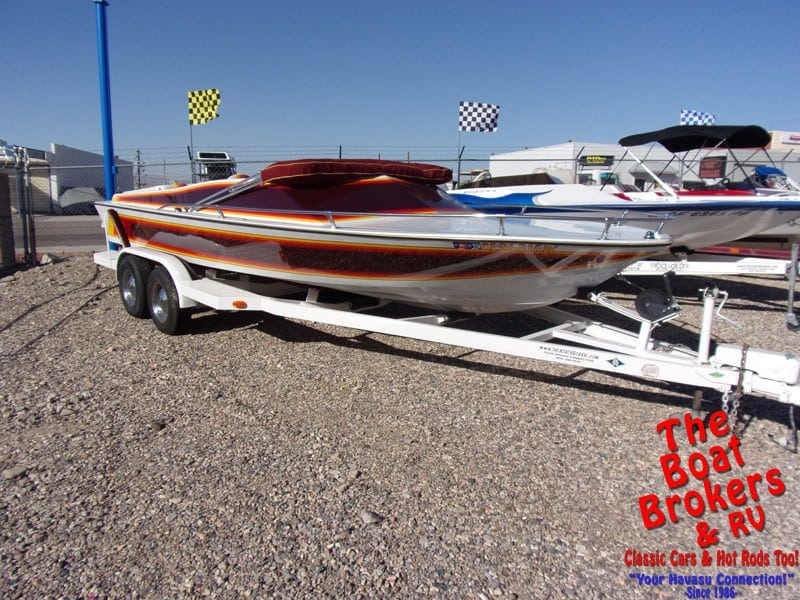 1976 HAWAIIAN JET BOAT 22'