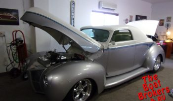 1940 FORD DELUXE 2 DOOR CONVERTIBLE Price Reduced!