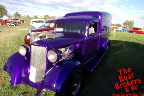 1934 DODGE HUMPBACK PANEL TRUCK