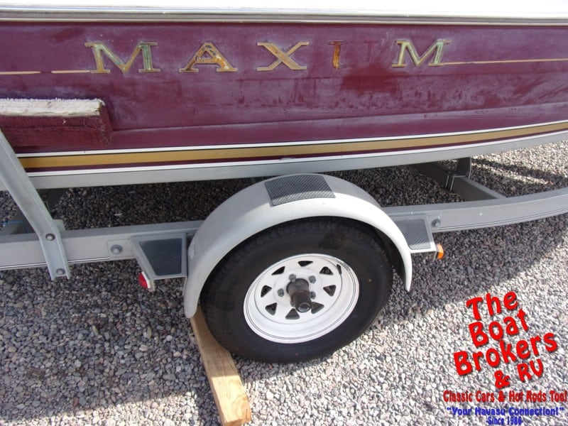 1996 MAXUM 17' OPEN BOW BOAT
