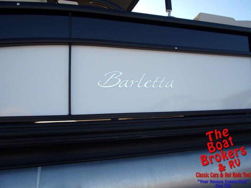 2019 BARLETTA E22Q 22' TriToon BOAT