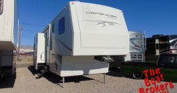 2009 ALPENLITE DEFENDER TOY HAULER 5TH WHEEL 38′