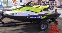 2017 BOMBARDIER SEA-DOO GTI 90 PAIR 3 SEATERS PWC