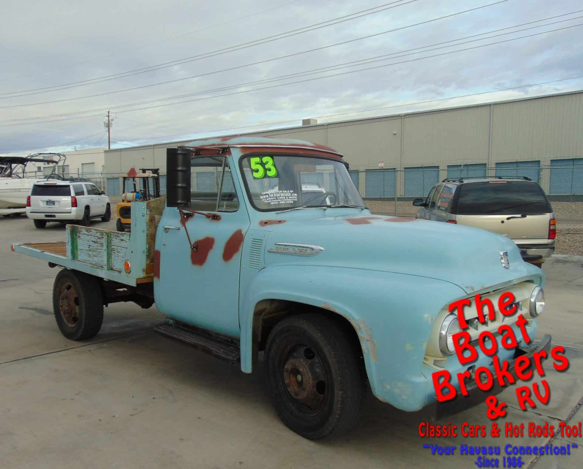 1953 ford f350 flatbed pickup new used boats rv for sale the 1953 1955 Ford Trucks 1953 ford f350 flatbed pickup stock fo3504c contact the sales team