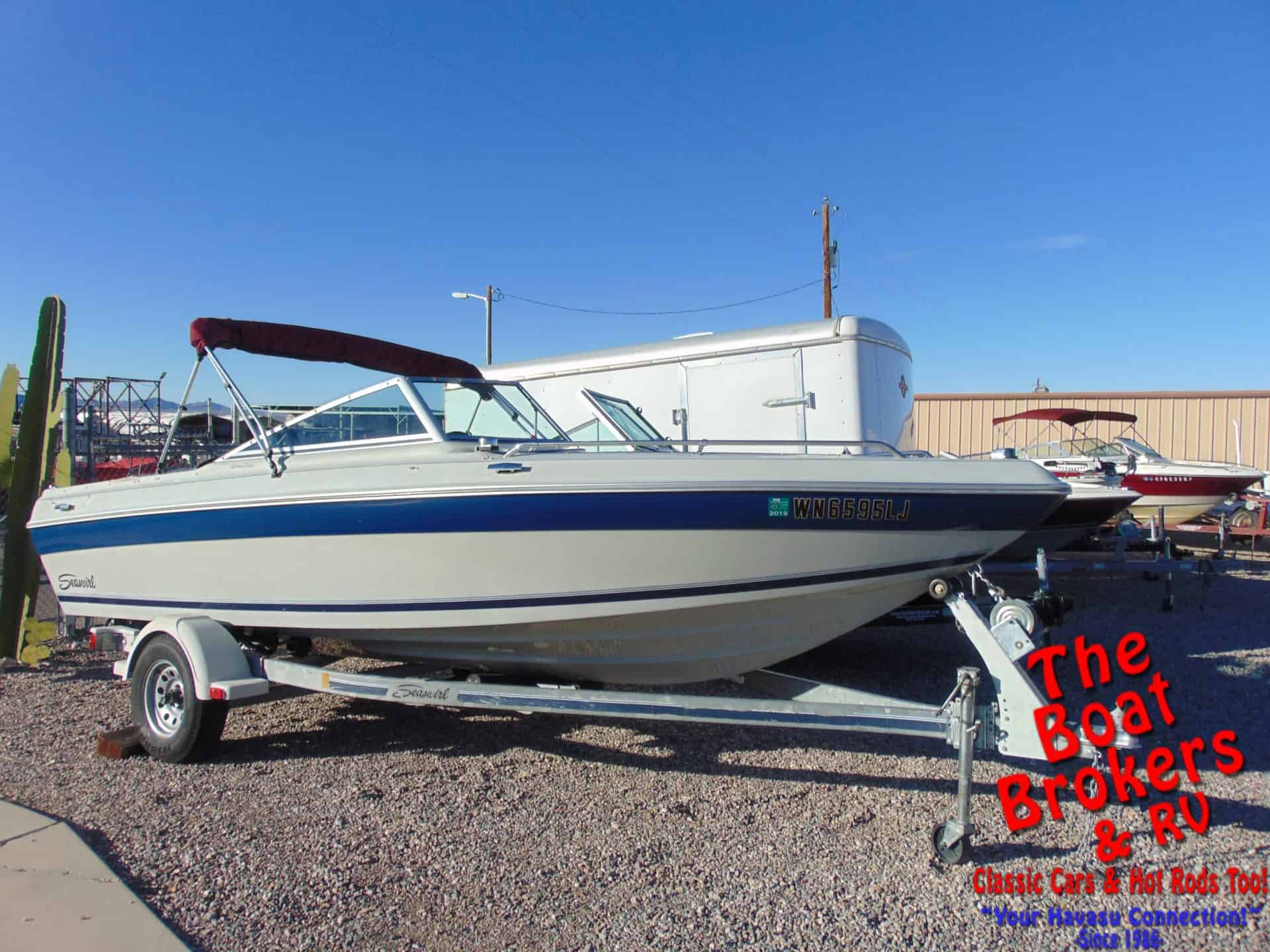 1989 Brc Sea Swirl Spyder 178 Open Bow 18 Price Reduced