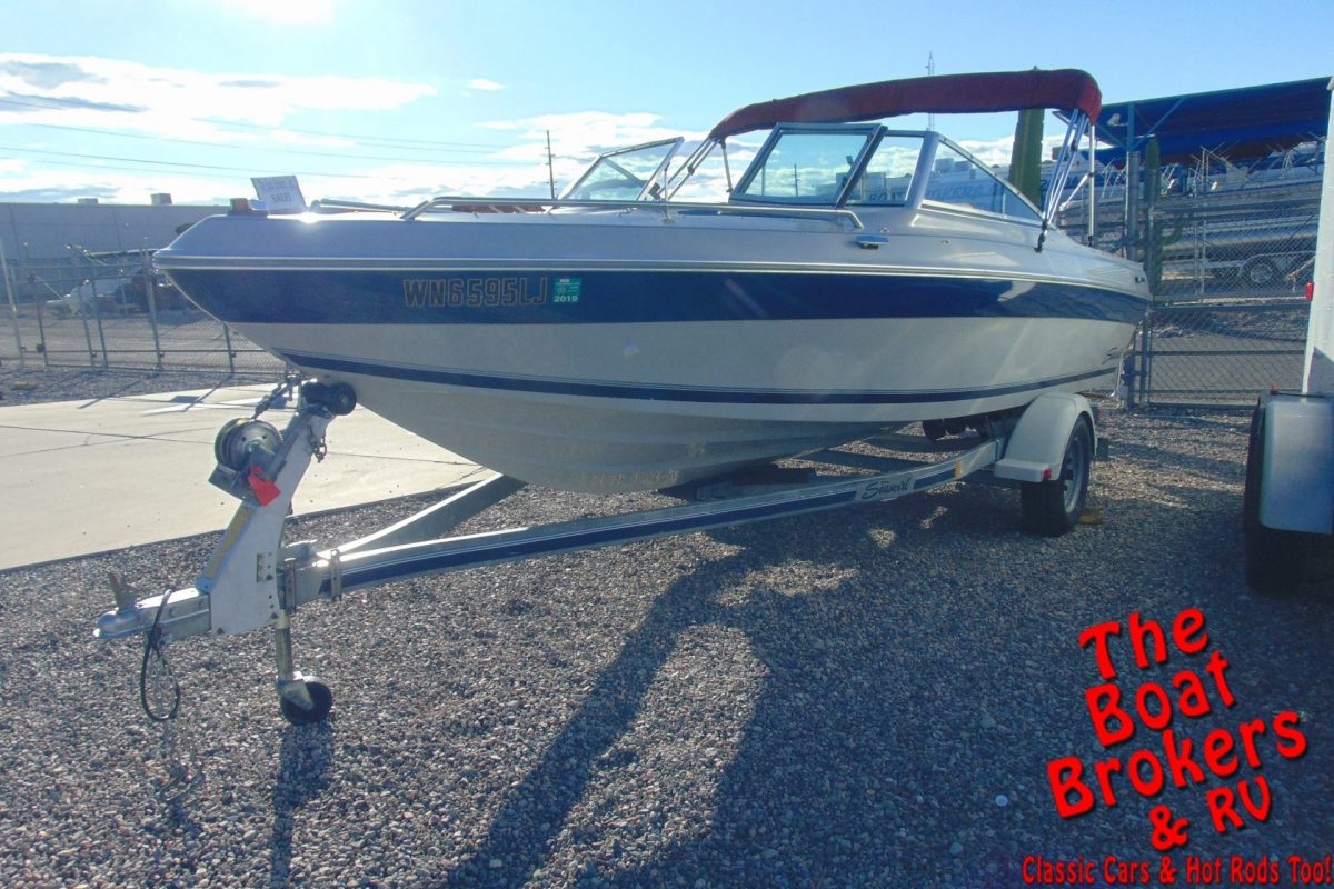 1989 SEASWIRL SPYDER 178 OPEN BOW 18'