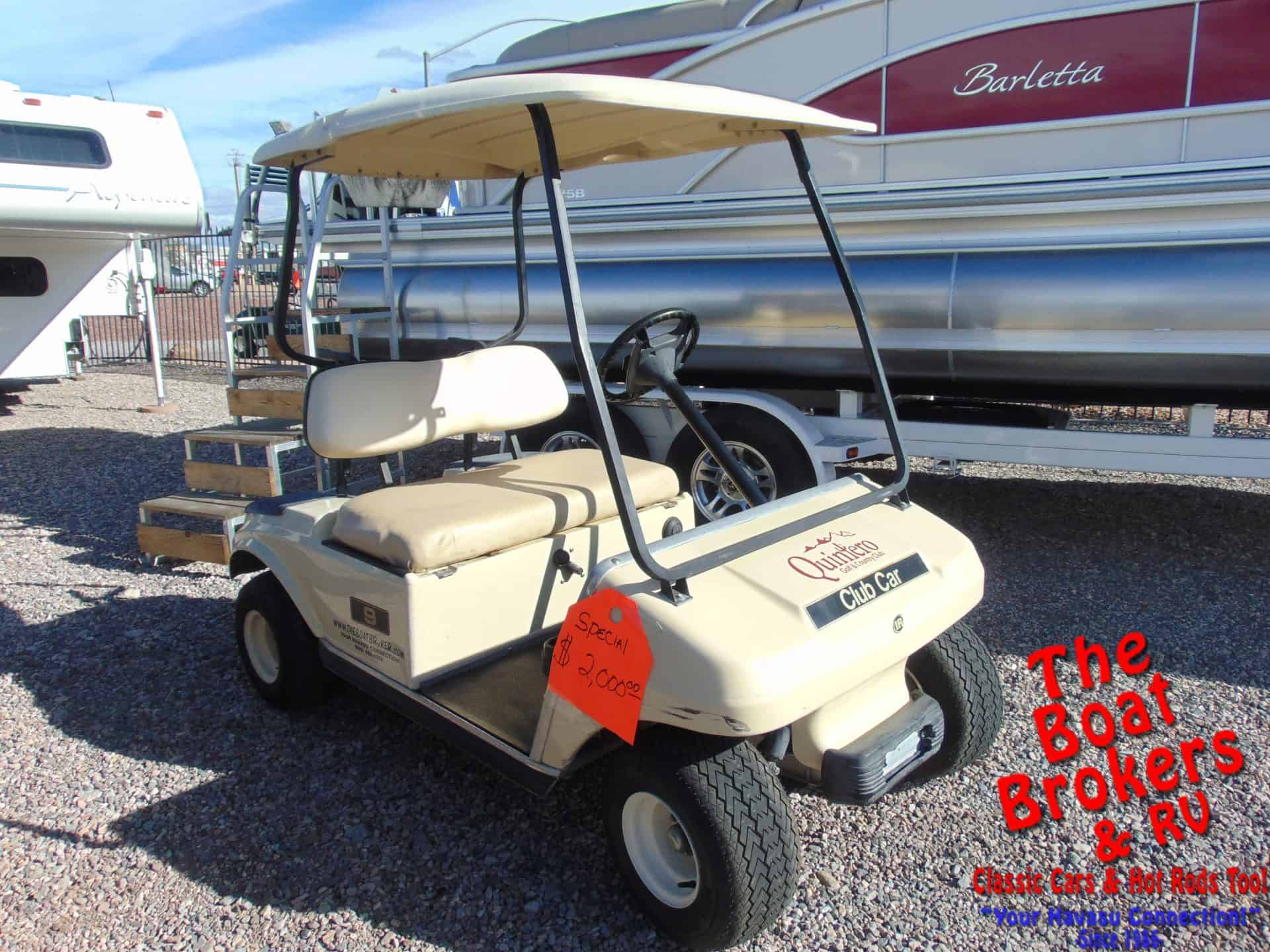 2003 CLUB CAR GOLF CART – 2 Seater #9 PRICE REDUCED!