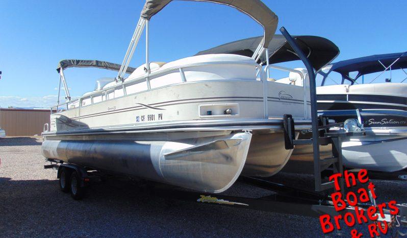 2003 LOWE /JAMAICA SUNCRUISER TRIPLE TUBE I/O 250