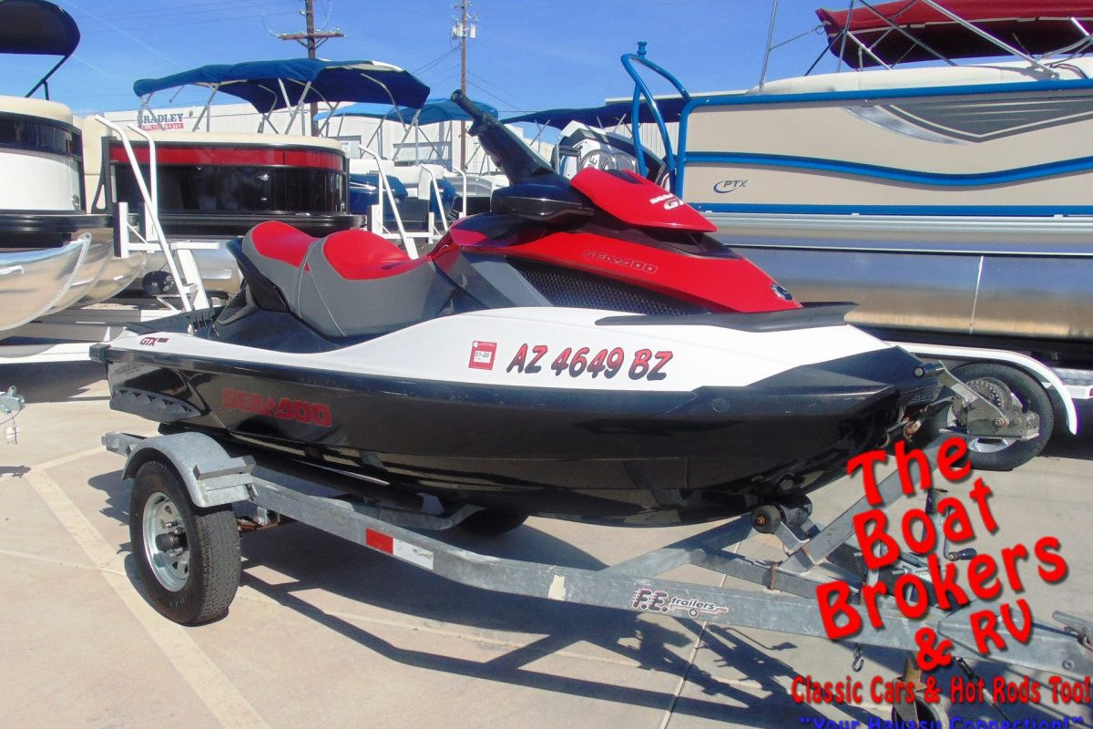 2010 SEA DOO GTX 215 3 SEATER