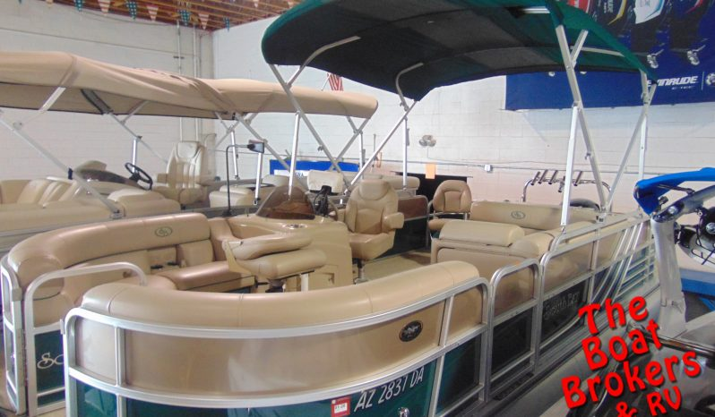 """2015 FOREST RIVER SOUTH BAY TRIPLE TUBE 22' 5"""" PONTOON"""
