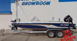 2005 TRACKER NITRO 288 SPORT 20′ FISHING BOAT