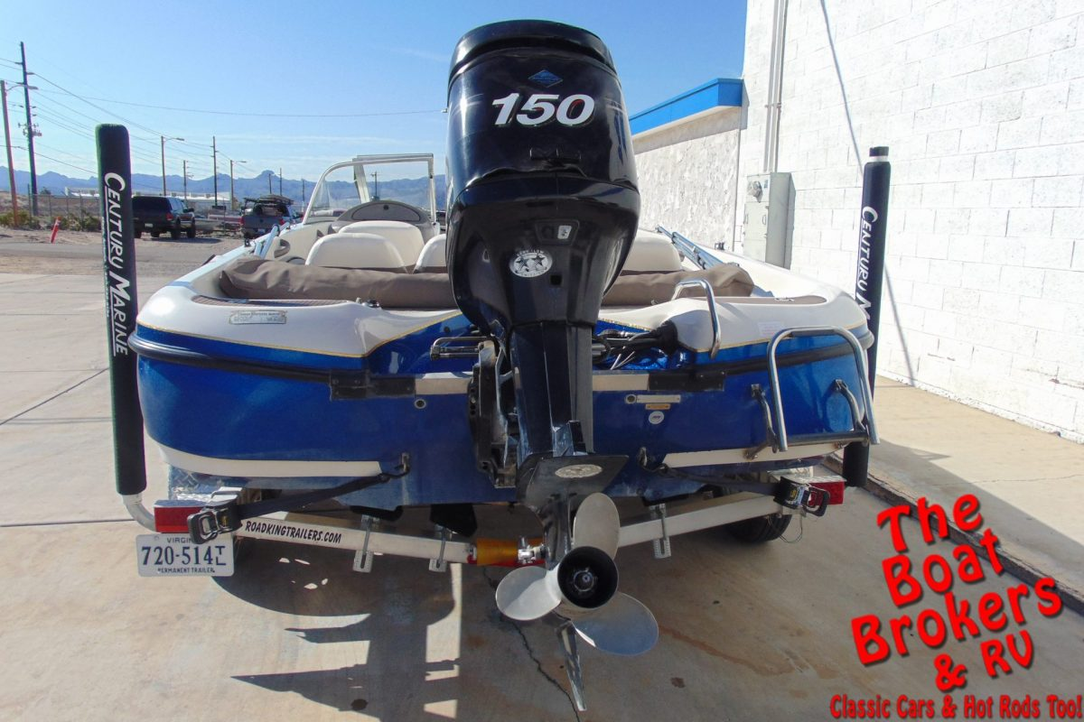 2007 TRACKER NITRO 288 SPORT 20' FISHING BOAT