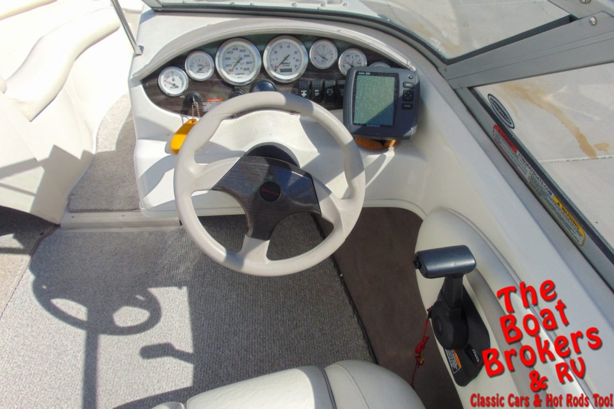 2006 STINGRAY 195 CX 20' OPEN BOW BOAT