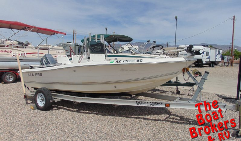 2004 SEA PRO 17' FISHING BOAT