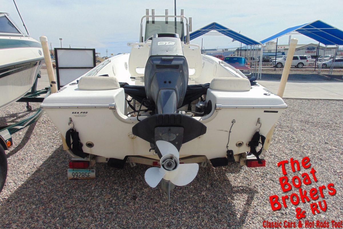 2004 SEA PRO 17' FISHING BOAT
