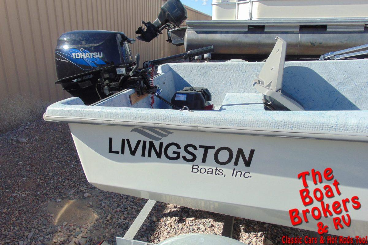2008 LIVINGSTON 10' FISHING BOAT