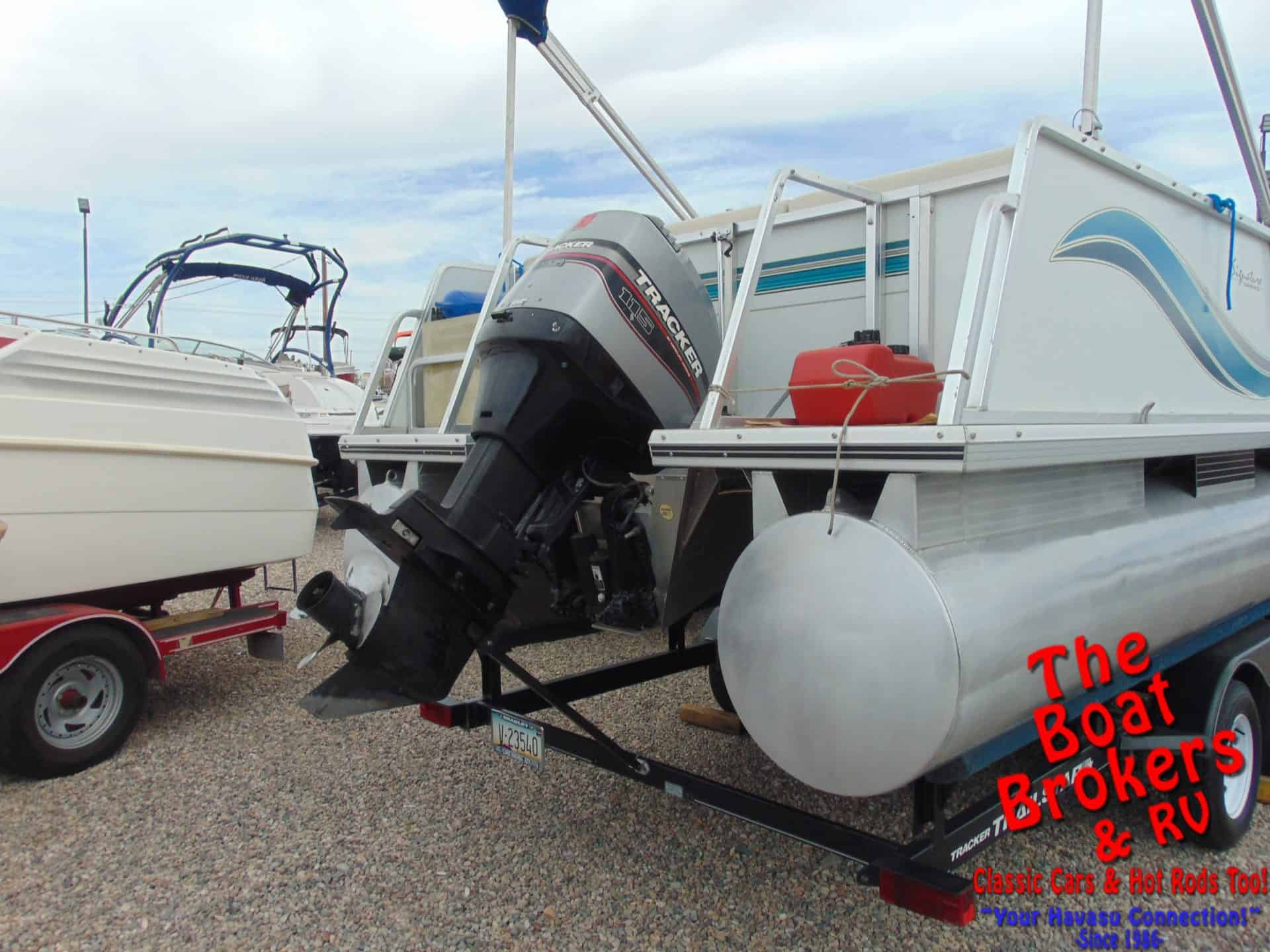 1997 TRACKER PARTY BARGE 25' PONTOON