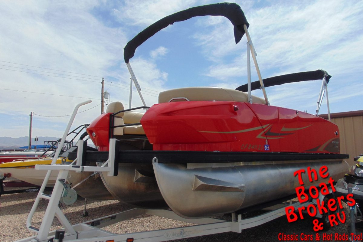 2015 LARSON ESCAPE RT 2400 24' TRIPLE TUBE BOAT