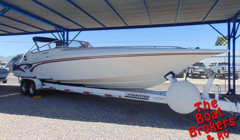 2001 FOUNTAIN POWER BOATS LIGHTNING 35' BOAT