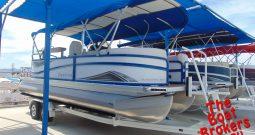 2019 PREMIER SUNSTATION 240 24′ TRIPLE TUBE BOAT