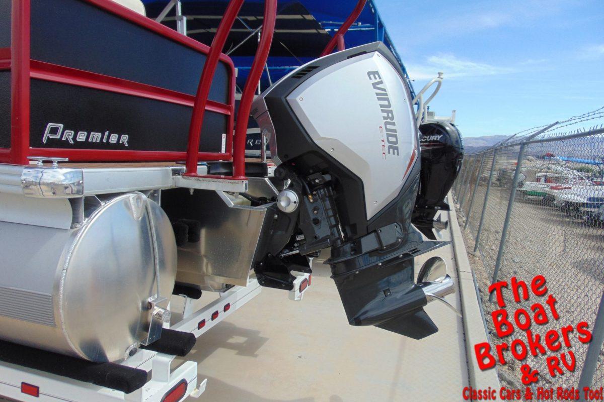2019 PREMIER SUNSTATION 240 24' TRIPLE TUBE BOAT Black/Red