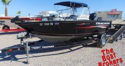 2015 TRACKER PRO GUIDE FISHING BOAT
