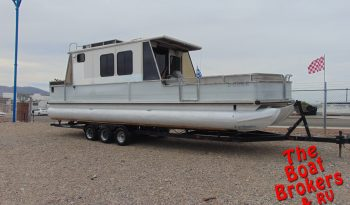 1994 TRACKER PARTY CRUISER 32′ TRIPLE TUBE PONTOON BOAT Price Reduced!