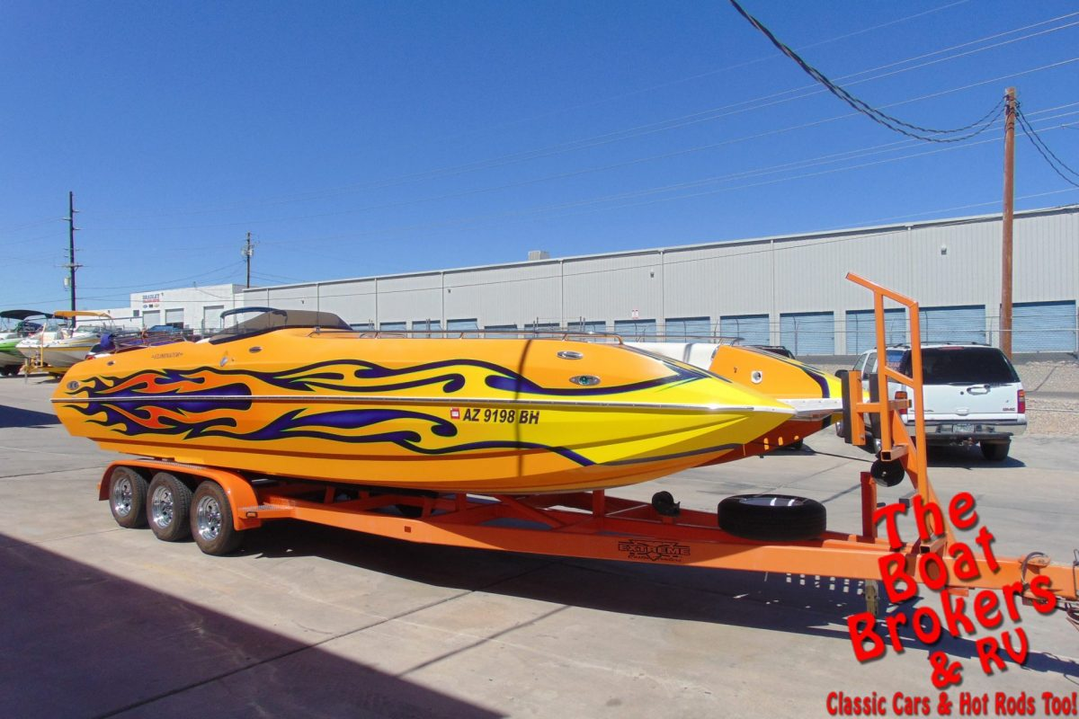 2005 ELIMINATOR 27' FUNDECK OPEN BOW BOAT