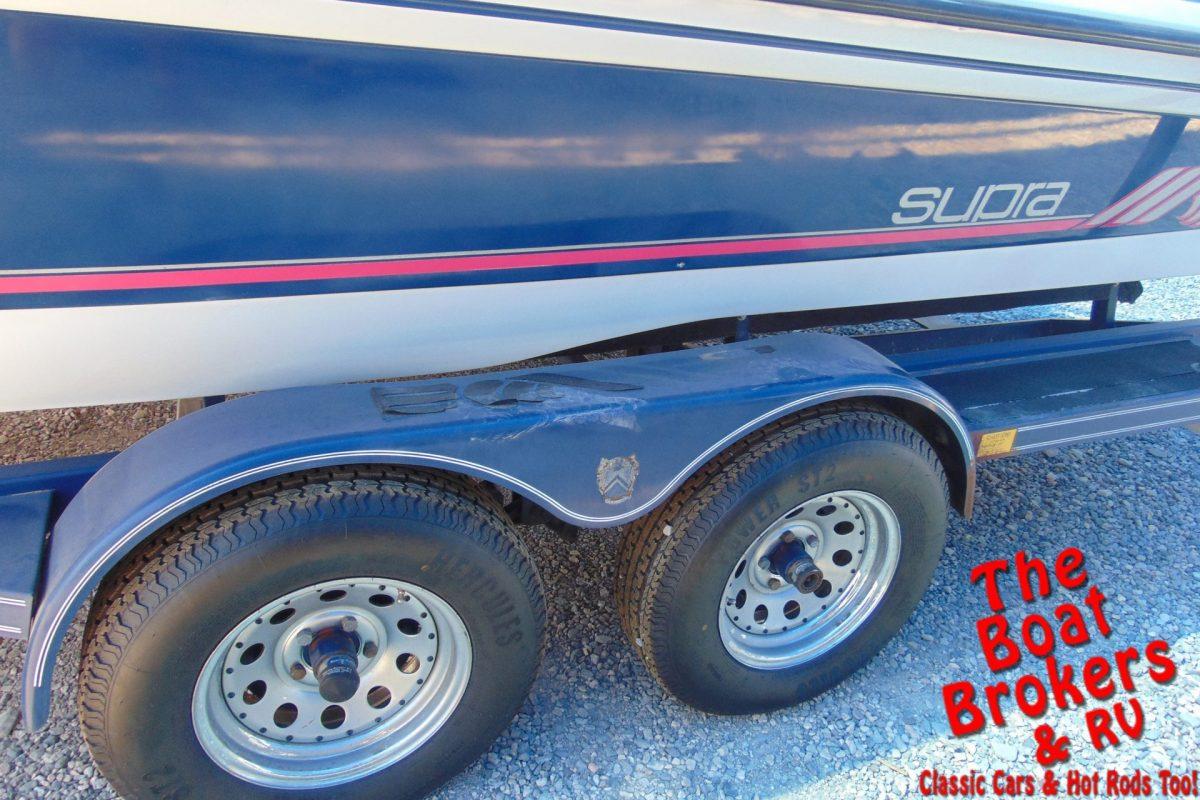 1997 SUPRA LA BRISA CLOSED BOW 20' BOAT