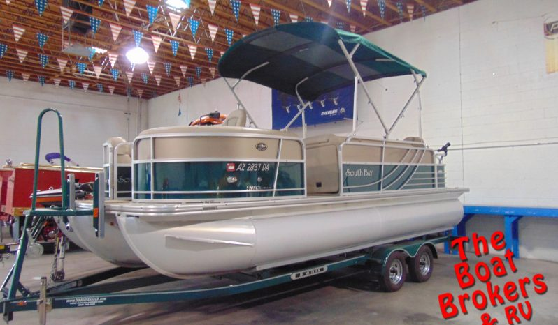 "2015 SOUTH BAY FRC TRIPLE TUBE 22' 5"" PONTOON"