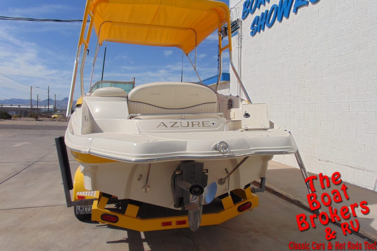 2005 AZURE 240 DB OPEN BOW DECKBOAT