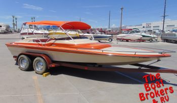 1983 SANGER MINI DAY CRUISER CLOSED BOW 20′ BOAT Price Reduced!