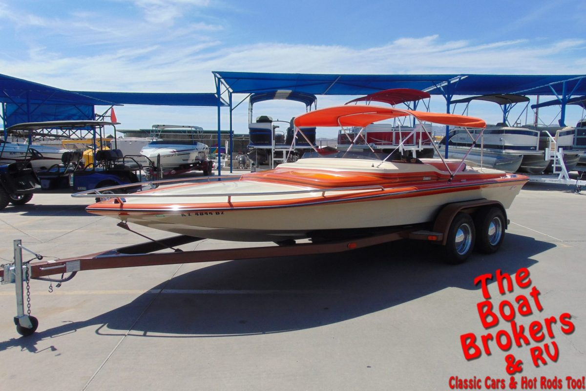 1983 SANGER MINI DAY CRUISER CLOSED BOW 20' BOAT