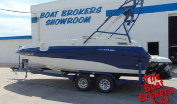 2001 CROWNLINE 212 DECK BOAT 21′ Price Reduced!